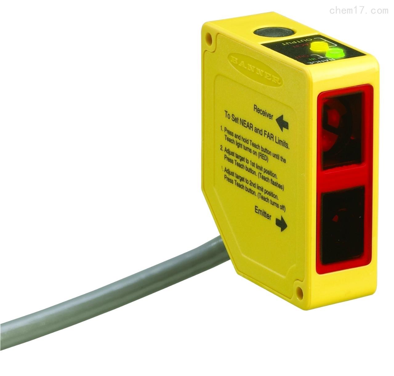 美国邦纳BANNER LED激光测量传感器