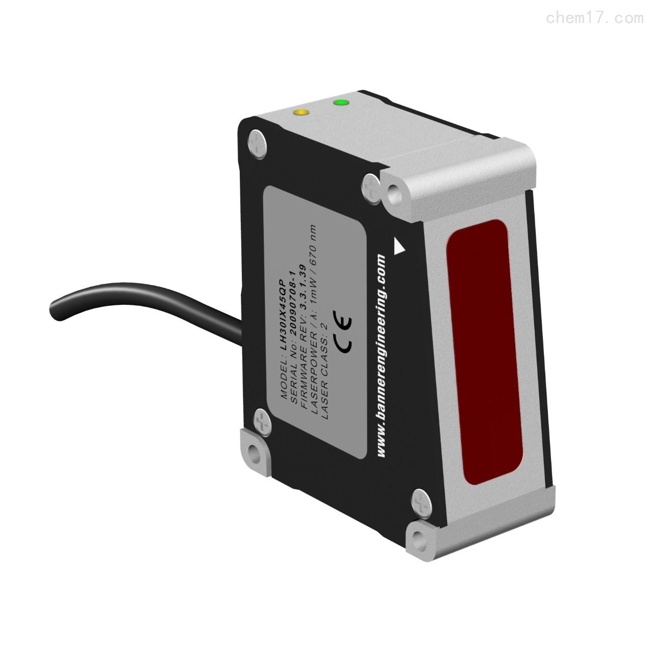 美国邦纳BANNER高精度激光测量传感器