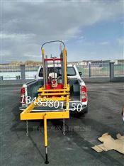 车载式路面汽油钻孔取芯的安装步骤