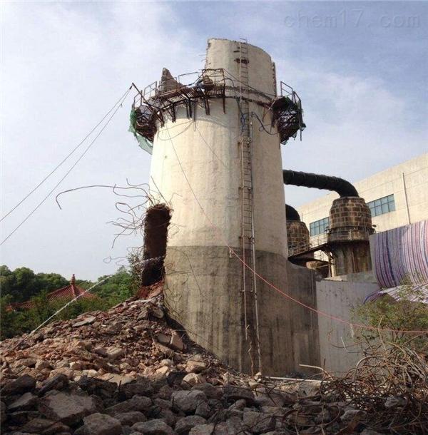 红河州砼烟囱拆除公司合作
