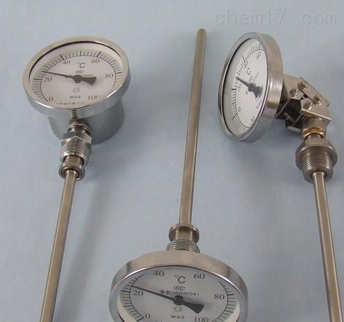 WSS-401双金属温度计上海自动化仪表三厂