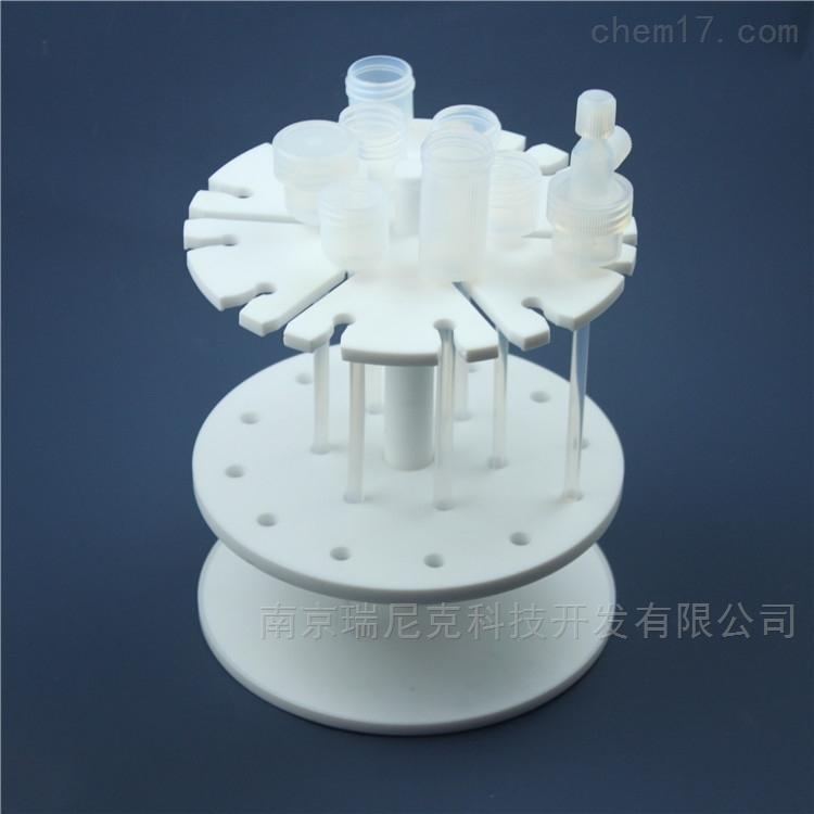 聚四氟乙烯产品四氟离子层析柱架
