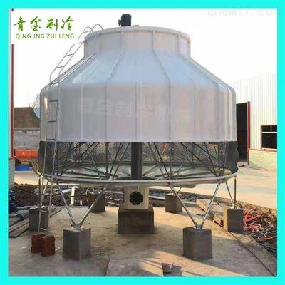 QX-80T圆形玻璃钢冷水塔