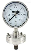 Y-100BFZ/MC 卫生型隔膜压力表