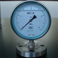 Y- 100BFZ/MC卫生型不锈钢隔膜压力表