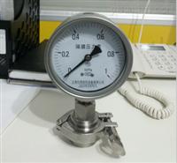 Y-100BFZ卫生型隔膜压力表
