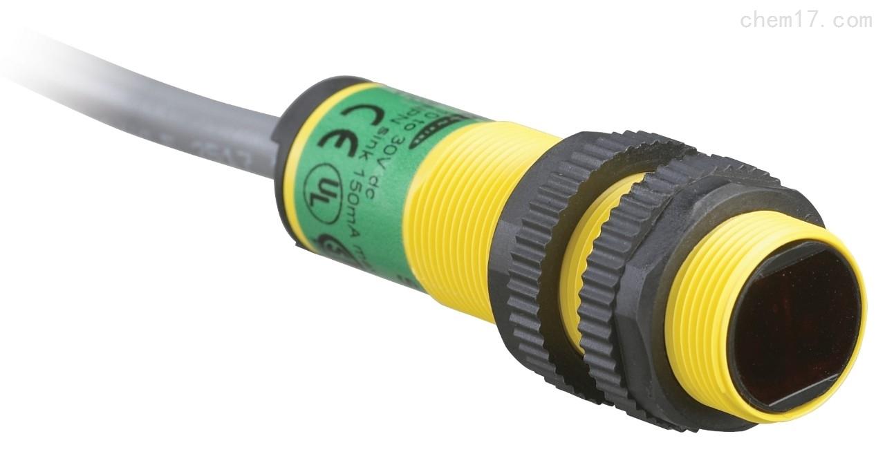美国邦纳BANNER环氧树脂封装的圆柱形传感器