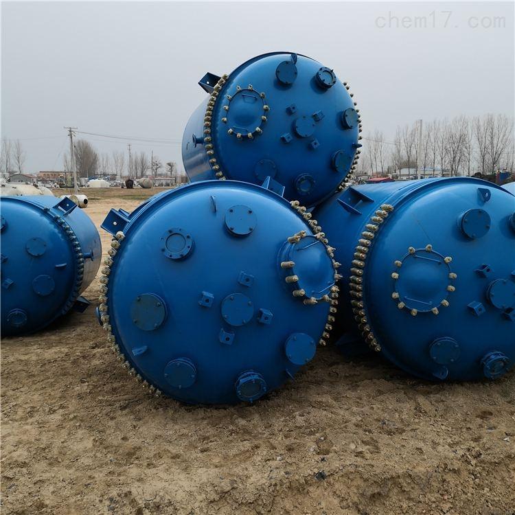 出售二手6300L搪瓷反应釜 二手各种化工设备