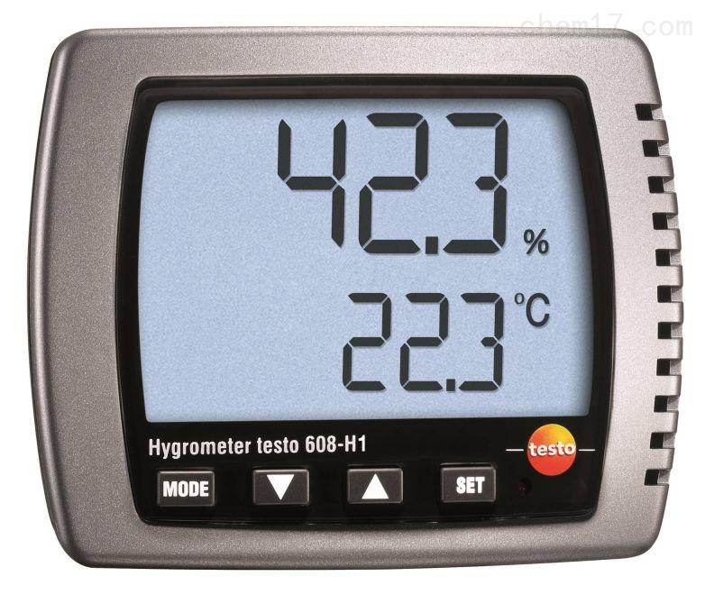 Testo台式迷你型温湿度表