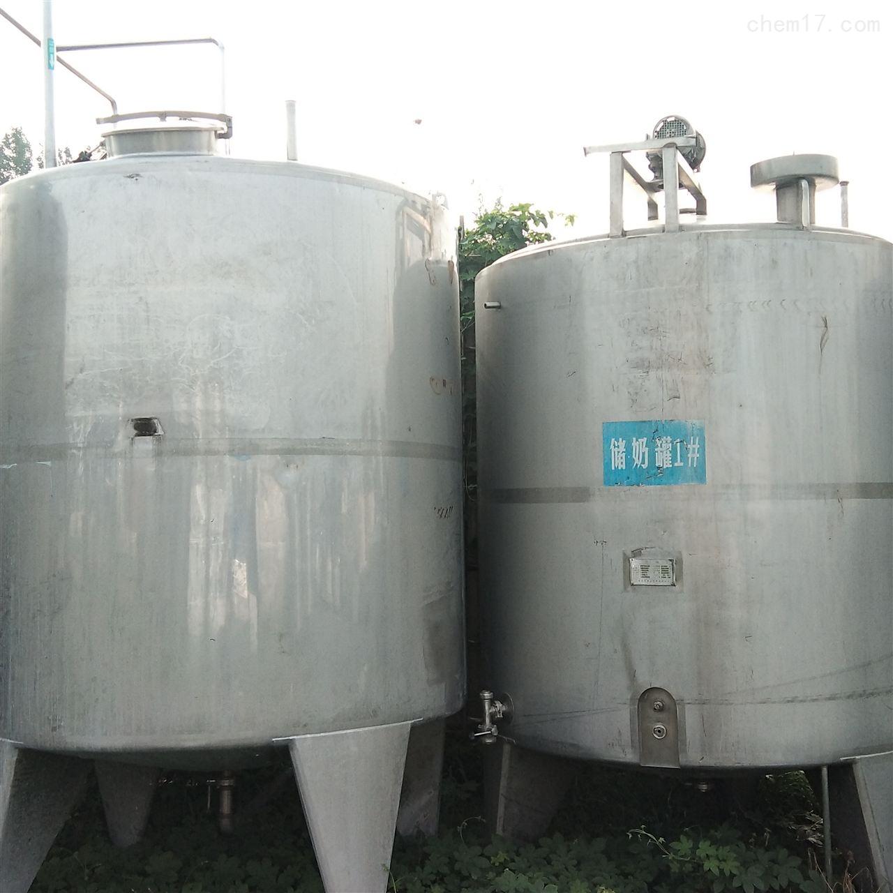 长期回收不锈钢发酵罐