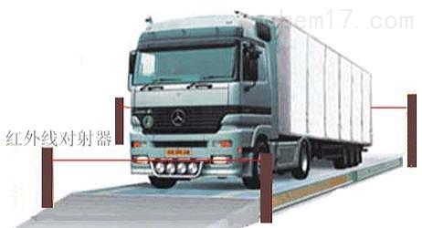港口码头车牌识别电子地磅汽车衡称重系统