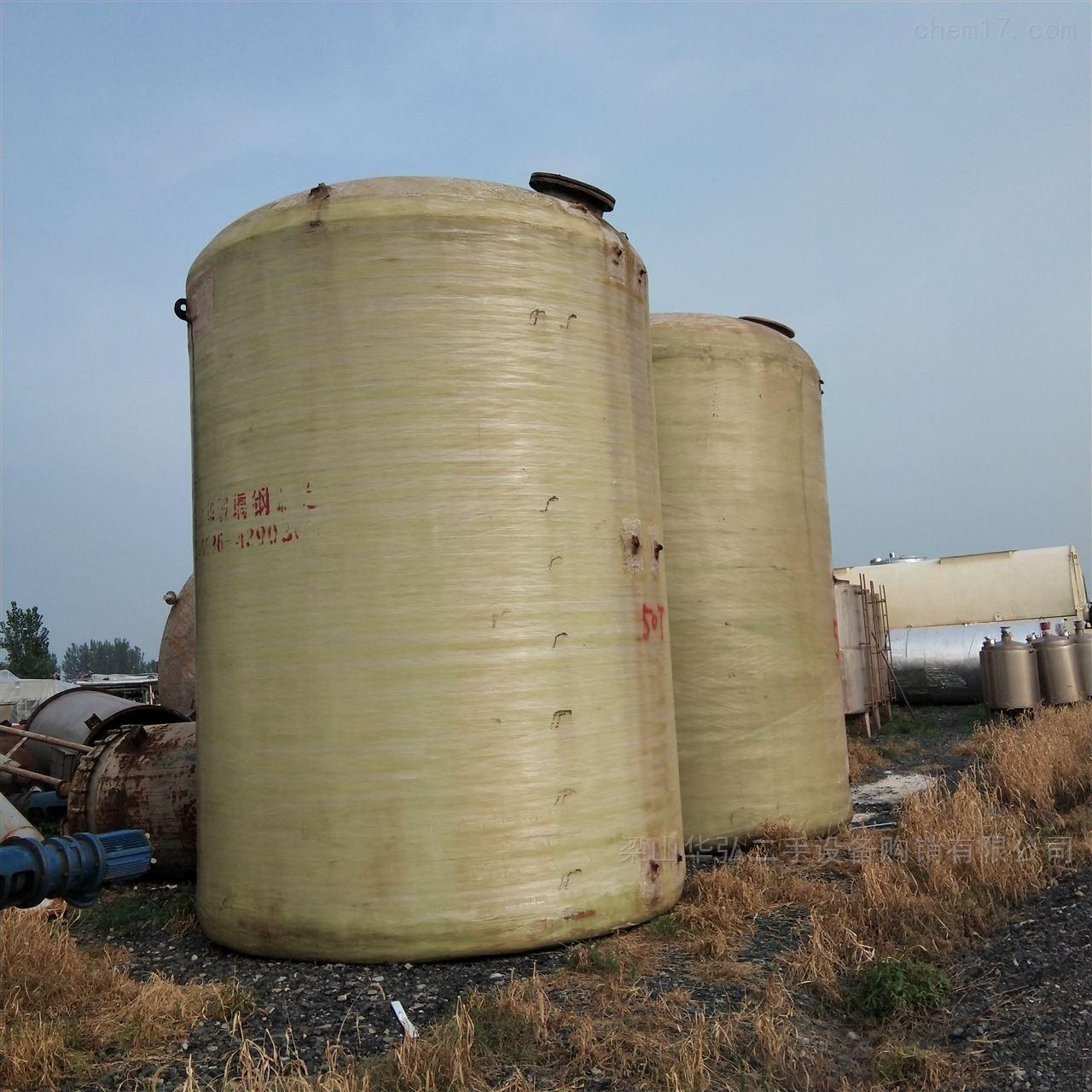 高价回收玻璃钢储存罐