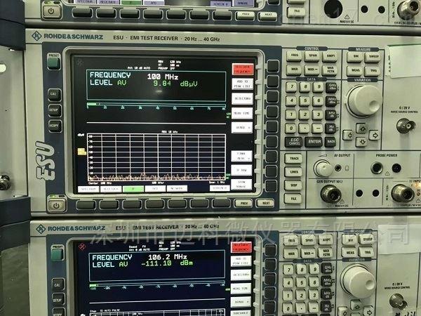 频谱仪罗德与施瓦茨ESU维修