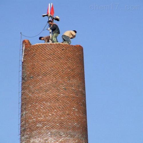 柳州市新建烟筒建筑烟囱公司施工——烟囱