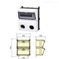 SIN1602-2双排组合装置插座箱