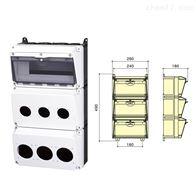 SIN1603-1三排组合插座箱