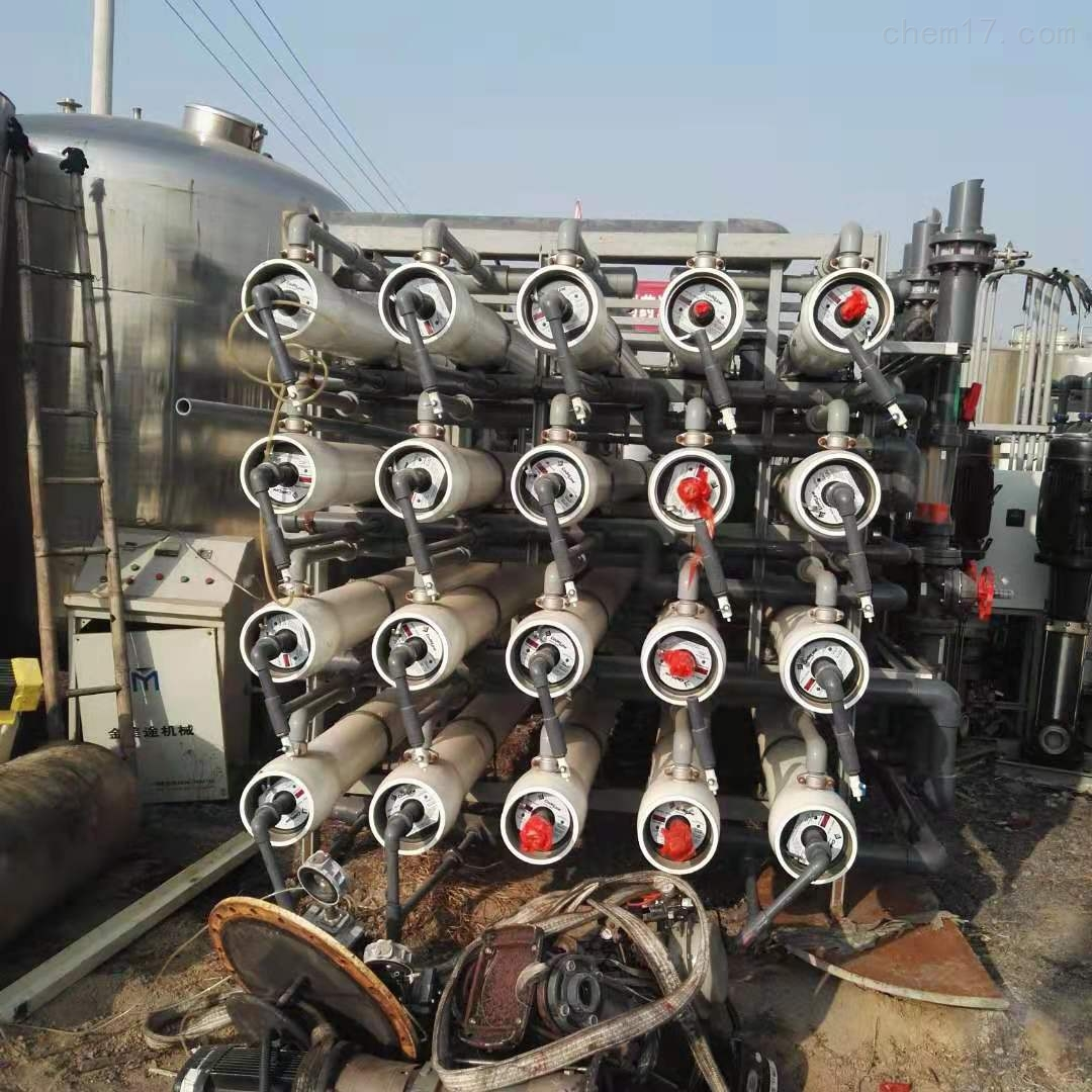 燕山出售120吨膜过滤水处理反渗透设备定金