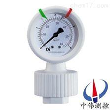 YTP-100S防腐全塑隔膜压力表