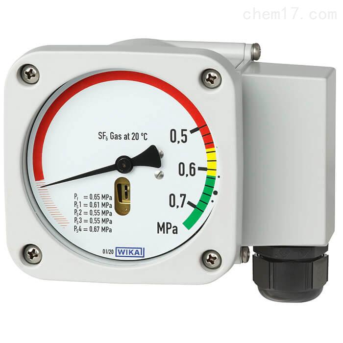 WIKA威卡气体密度显示器