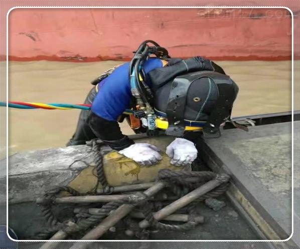 白银市水下堵漏公司[水下打捞]