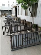 DCS-HT-D温州1.5*2m畜牧围栏秤 2吨猪笼电子地磅