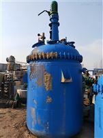 高价回收二手不锈钢外盘管加热反应釜