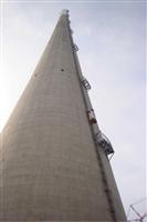 射阳县烟囱升降机烟筒升降梯安装*砖烟囱