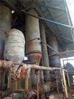 二手15吨钛材质四效强制循环蒸发器