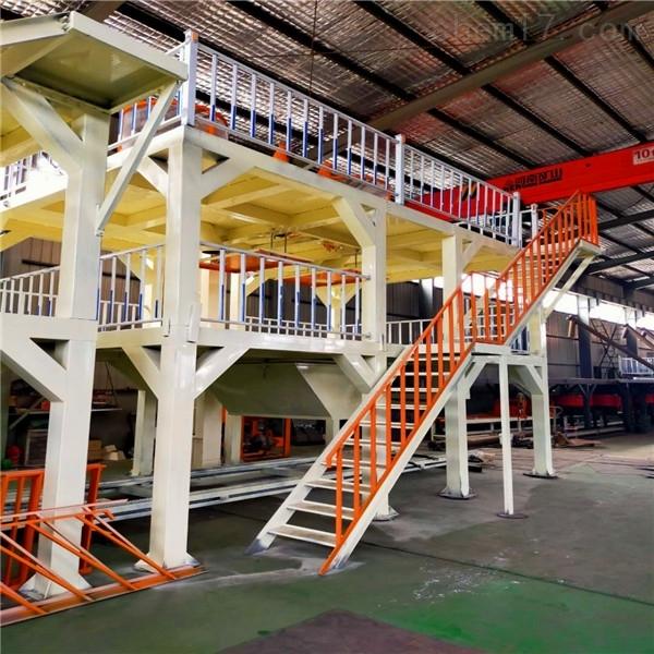 流淌式水泥基匀质板生产设备厂家报价