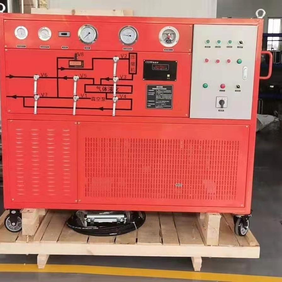 电力资质抽气速率≥40m³/h SF6气体回收装置
