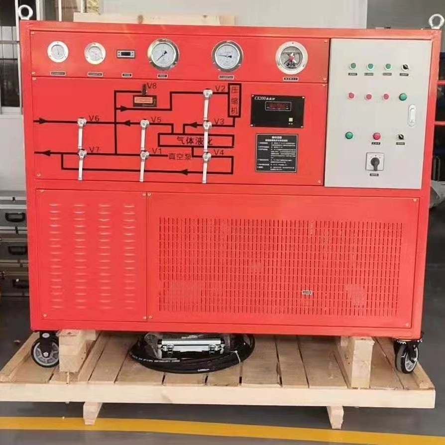 SF6气体回收装置抽气速率≧40m3/h