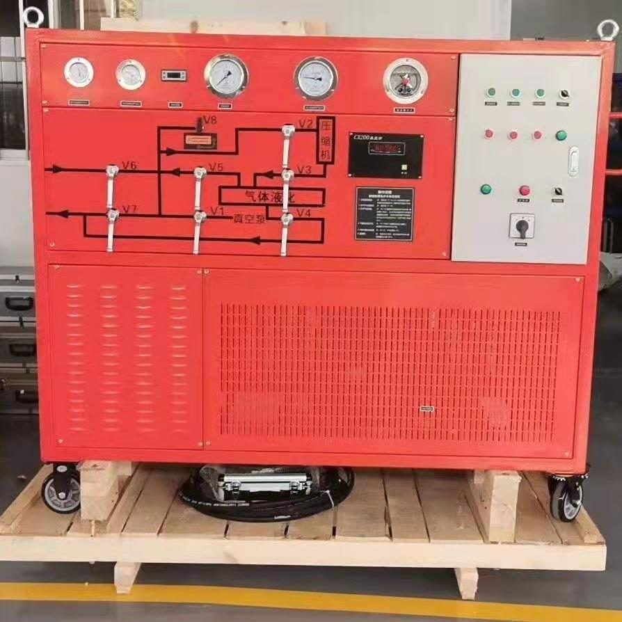 三级电力承装修SF6气体回收装置