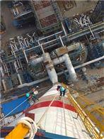 安装折梯烟囱安装旋转钢爬梯