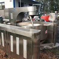 300升夹层锅长期回收二手电加热夹层锅