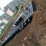 保定地埋式消防水池基础浇筑