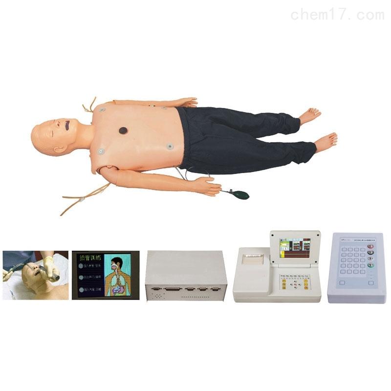 高级多功能心肺复苏急救训练模拟人