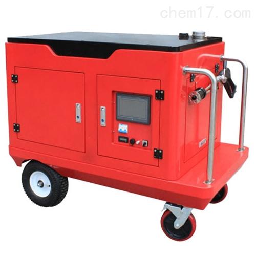 电动高压细水雾灭火系统机质
