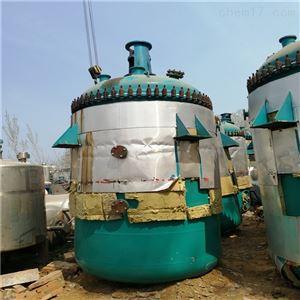 本厂闲置二手蒸汽加热反应釜