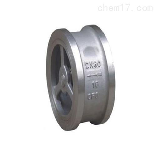 H76H不锈钢对夹式止回阀