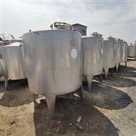 二手5立方不锈钢储罐山东厂家供应
