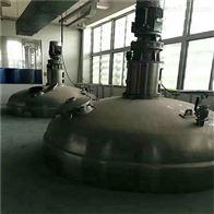 二手磁力搅拌不锈钢发酵罐回收
