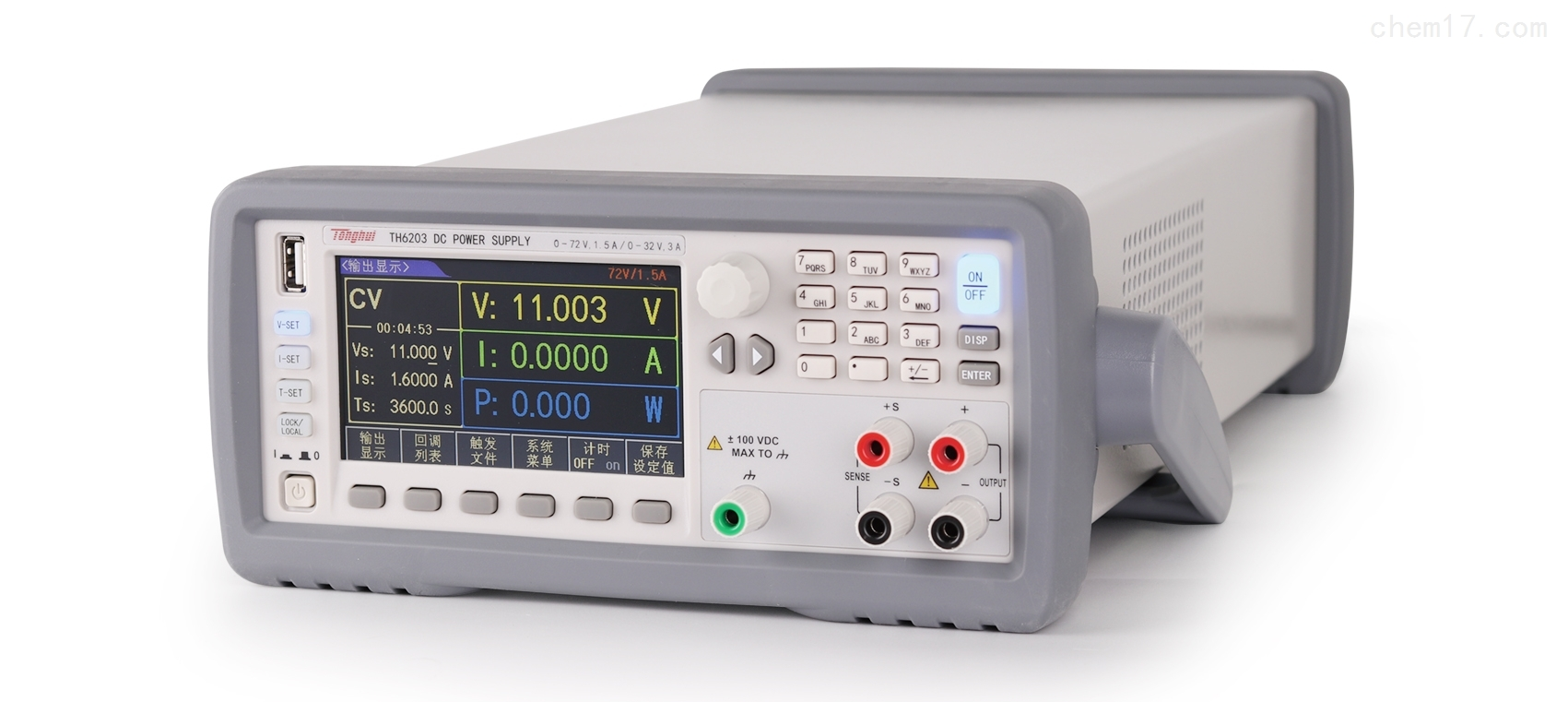 TH6203 雙范圍可編程線性直流電源