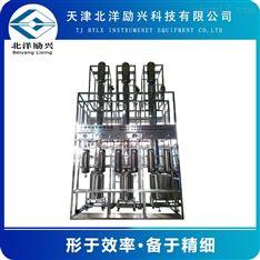 玻璃试验精馏塔装置