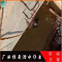 沉管过江天然气管道安装公司(潜水作业队)