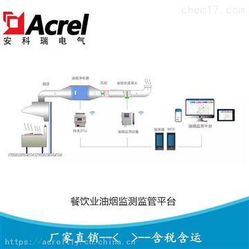 AcrelCloud-3500油煙在線監測雲平台