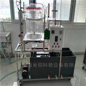 竖流式圆形溶气加压气浮实验装置
