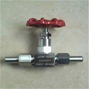J21W外螺纹针型阀