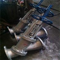 JS45Y不锈钢手动Y型料浆阀