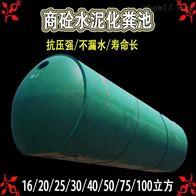 12 20 30 40 50 75 100立方钢筋混凝土水泥化粪池