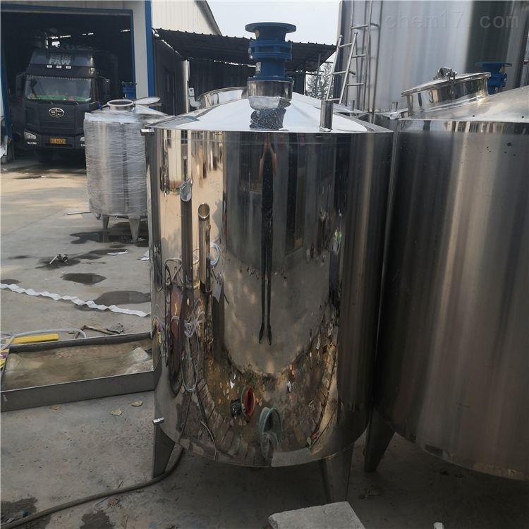 厂家定做全新1吨不锈钢搅拌罐